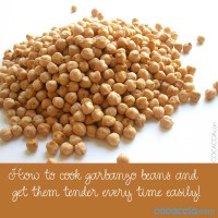 How To Cook Garbanzo Beans