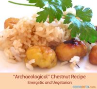 Rice and Chestnut Recipe